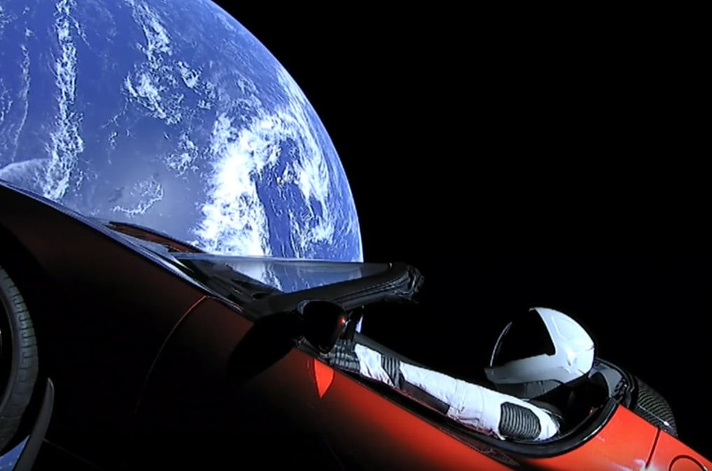 Watch 'Starman' drift: SpaceX's Tesla reaches the ultimate cruising altitude and rides off into space